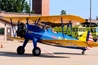 PT-17 Stearman flown by Rod Hightower