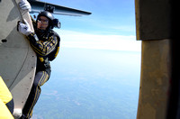 Golden Knights at the 2014 Salute to Veterans