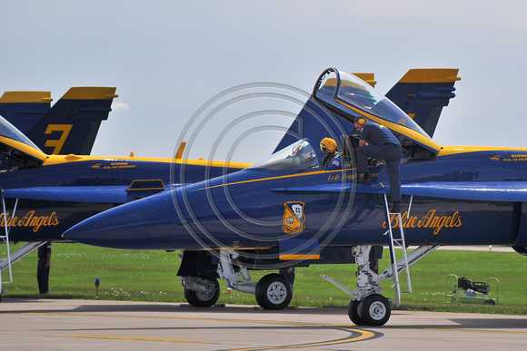 Blue Angels F-18 Hornets