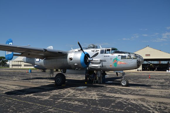 "B-25 ""Maid in the Shade"""