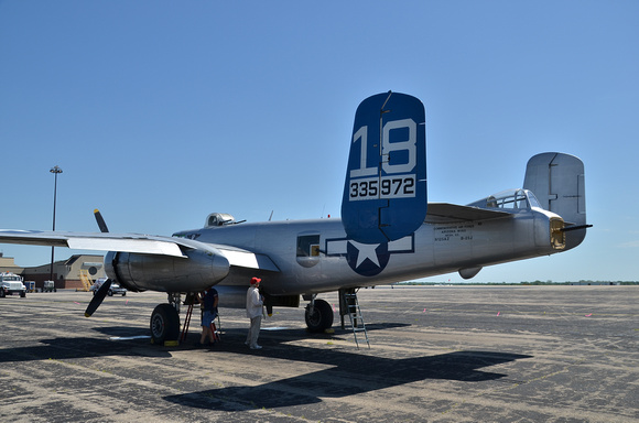 B-25 Made in the Shade