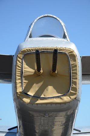 Tail gunners position