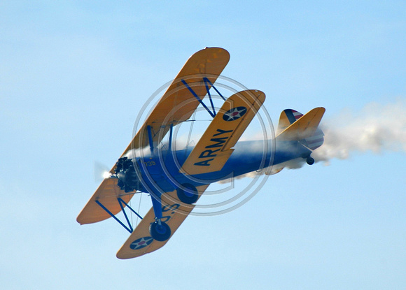 John Mohr and the Stearman