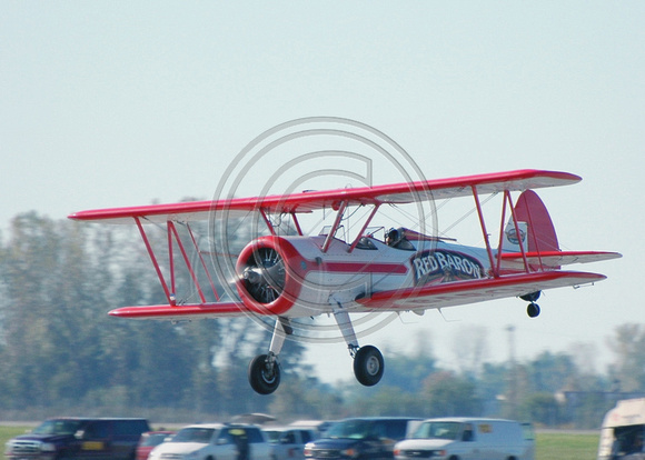Red Barron take off