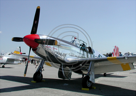 P-51 Betty Jane