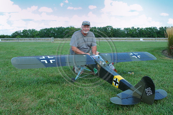 Doug Crumley and Fieseler Storch.